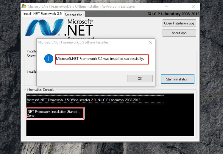 <b>Microsoft</b> .<b>NET</b> <b>Framework</b> <b>3.5</b> <b>Offline</b> <b>Installer</b> <b>for</b> <b>Windows</b> 8 and...