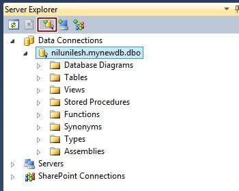 how to connect access database in visual studio 2010