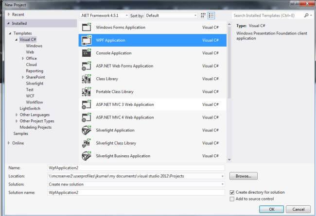 Ribbon Control in WPF 4 5