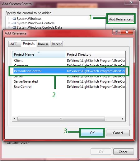 User Control In Visual Studio LightSwitch 2011
