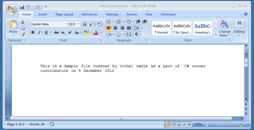 write a html program illustrating text formatting in word