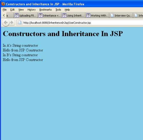 how to call a constructor from another constructor in java