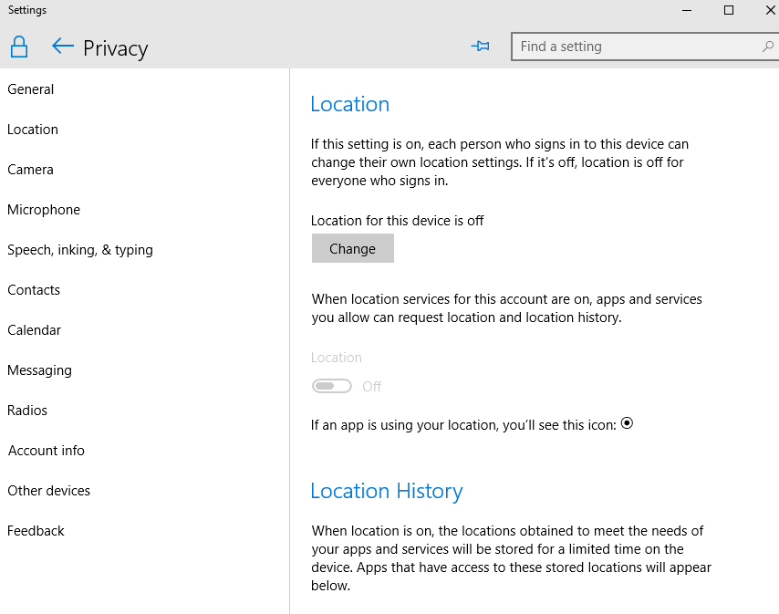 How to turn off cortana and stop personal data gathering in windows 10