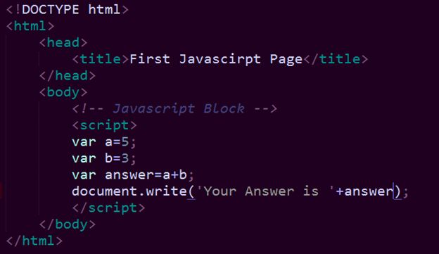 Write a program for armstrong number in javascript what is the syntax