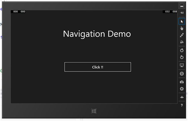 how to add a navigation to master page c