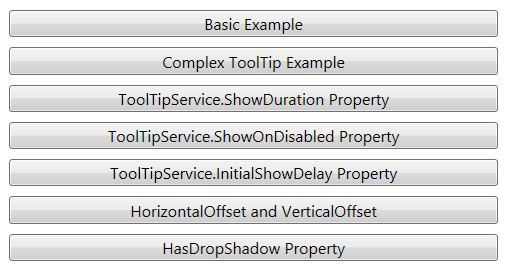 ToolTip in WPF