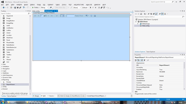 Working On RDLC Report In C#