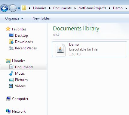how to create jar file in netbeans 6.9