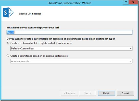 create list in sharepoint 2013 apps