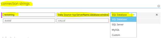 how to put connection string in sql