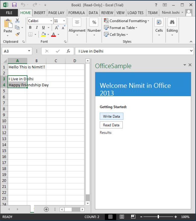 how to stop open office from writting over text