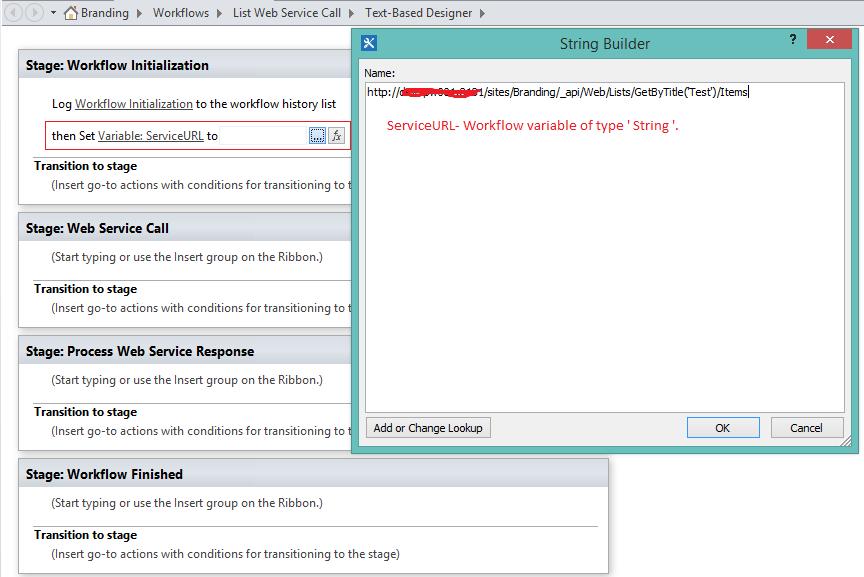 Call Http Web Service Using Sharepoint Designer 2013 Spd