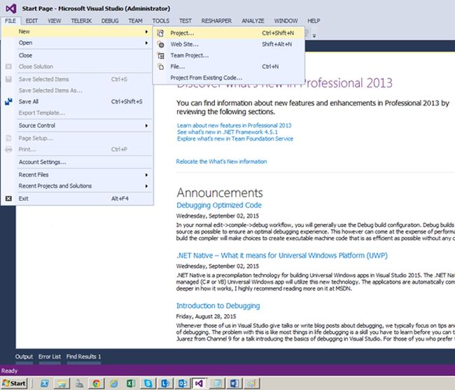 Create A SharePoint 2013 App Using Visual Studio 2013 And