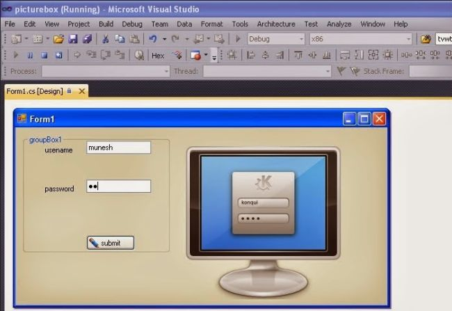 How to Open a Second Form Using First Form in Windows Forms