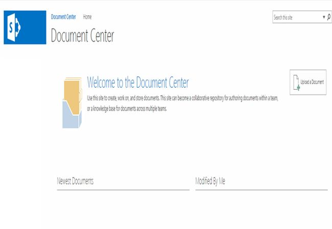 Site Templates Part 5 Document Center In Sharepoint 2013 And Office 365