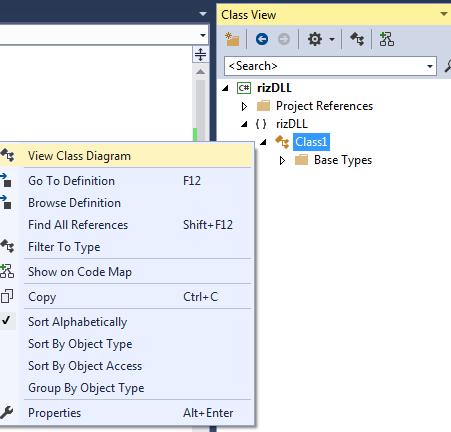 Creating a Library Using Visual Studio 2015