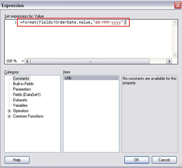 Create rdlc report in vs 2010 and sql server 2008 for Rdlc template