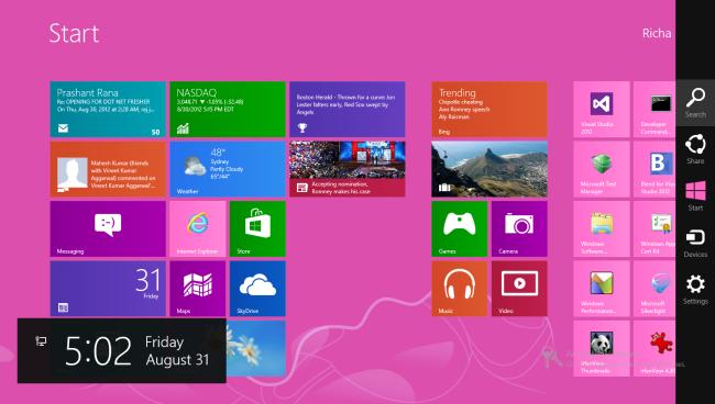 Change Alarm Tone in Windows 8