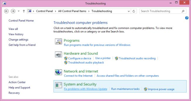 System and security windows8 jpg
