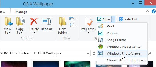 how to change type of video file in windows 8
