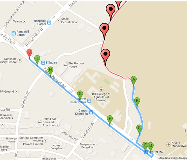 Draw an Infinite Route With Multiple Locations on Google Maps Draw Directions On Google Maps on