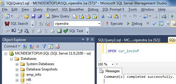 How to iterate through a result set by using Transact-SQL in SQL Server