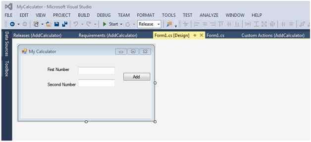 Creating Setup File With Visual Studio 2013