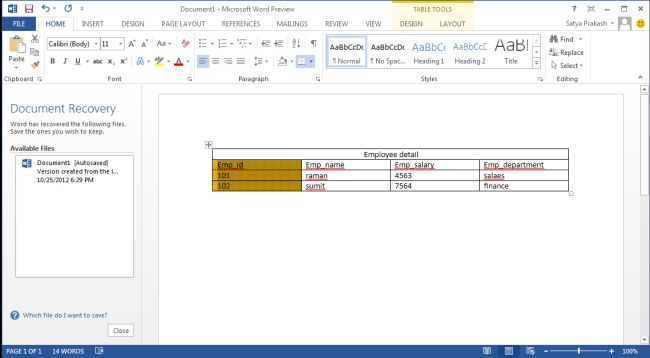 how to add columns in word