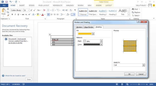 how to add a border in publisher 2013