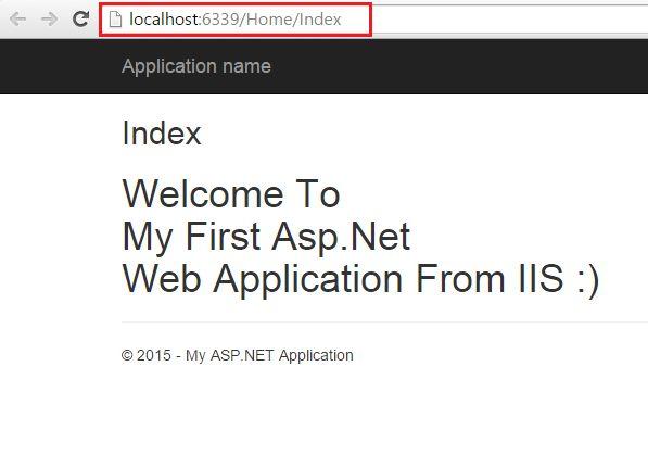 آموزش publish در asp net