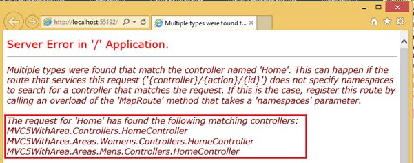 What Are Areas in ASP Net MVC - Part 6