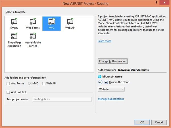 ASP NET MVC 5: Render Same Page With Multiple URLs Using