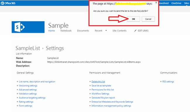 deletepage in sharepoint