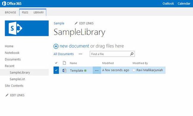 delete a document in sharepoint