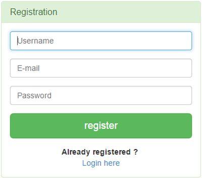 Register Login.php