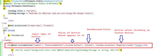 creating custom html helpers mvc 3 razor Creating custom aspnet core tag helpers 2015-06-22 aspnet core tag helpers updated nov 22,  most of the other built in mvc tag helpers target existing html tags  we are able to greatly simplify the razor code required to create a bootstrap progress bar with a value from the our model as a result, our razor view is easier to.
