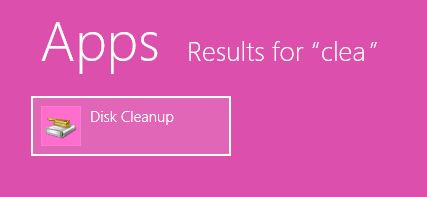 how to clear recent files windows 8