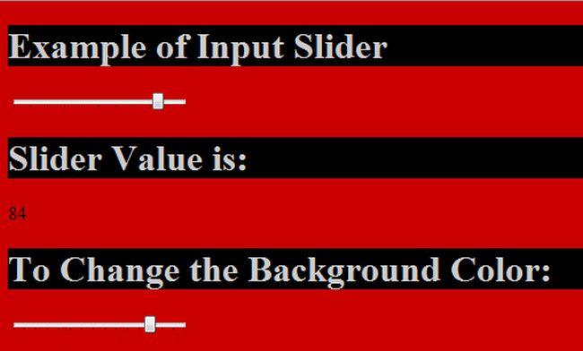 Input type range change event