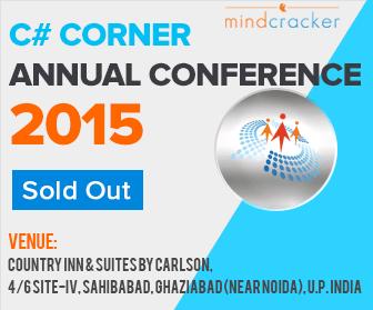 C# Corner Annual Conference 2015
