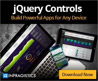 Infragistics jQuery Controls