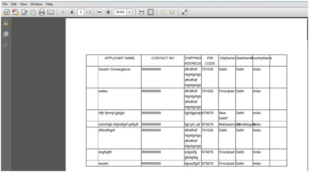 Export to PDF from a RadGrid in ASP NET
