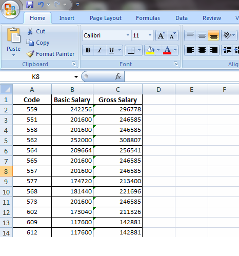 Import Excel Data Into Sql Temp Table