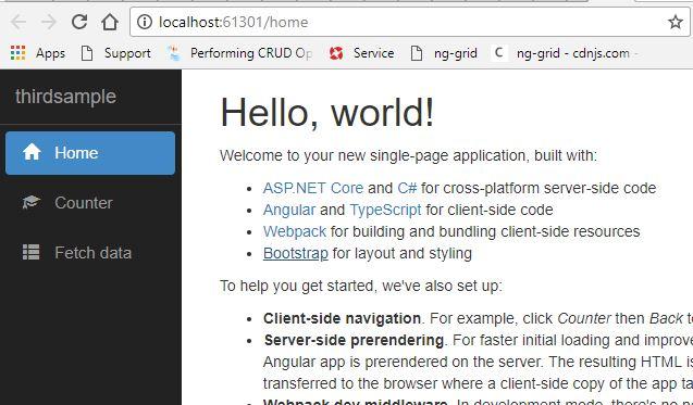 img5 Template Application Web Asp Net on logo png, web development, core architecture, web application, mvc framework,