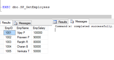 Tips To Increase SQL Server Stored Procedure Performance