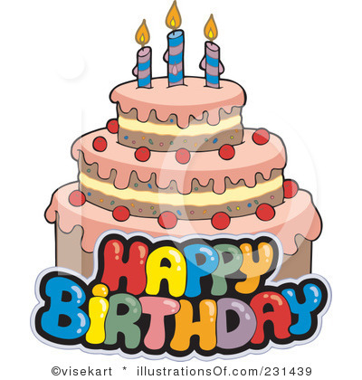Free Clipart Birthday Cake Pictures : Happy Birthday Destin