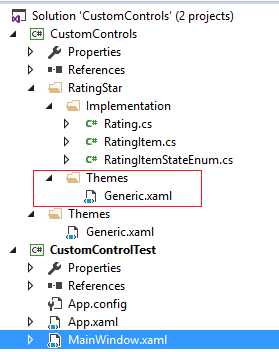 Rating control in WPF