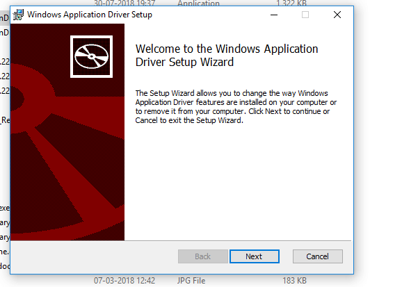 Windows Application Automation Testing Using Winapp Driver And C# Beginner
