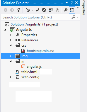 Searching, Sorting, Rows Count, Mouseover Filter In AngularJS