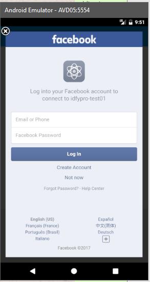 Facebook And LinkedIn Login With Firebase And Xamarin