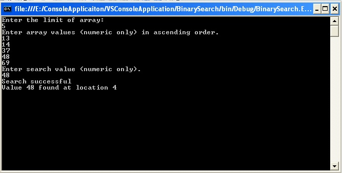 file watcher in c console application
